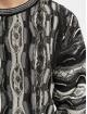 Carlo Colucci Pullover Jacquard schwarz