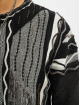 Carlo Colucci Sweat & Pull Jacquard noir