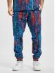 Carlo Colucci Sweat Pant Alloverprint blue