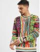 Carlo Colucci Swetry Retro kolorowy