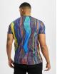 Carlo Colucci T-Shirt Retro II bleu