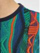 Carlo Colucci T-Shirt Retro blue