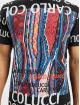 Carlo Colucci T-Shirt Lettering noir