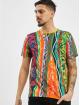 Carlo Colucci T-shirts Retro mangefarvet