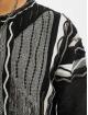 Carlo Colucci trui Jacquard zwart