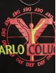 Carlo Colucci x DEF Pulóvre Logo èierna