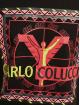 Carlo Colucci x DEF Tričká Logo II èierna