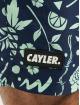 Cayler & Sons Badeshorts WL Leaves N Wires blau