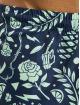 Cayler & Sons Kúpacie šortky WL Leaves N Wires modrá