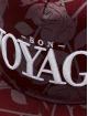 Cayler & Sons Snapback Caps WL Bon Voyage Roses red