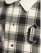 Cayler & Sons Übergangsjacke Blackletter Flannel Box schwarz