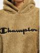 Champion Sweat capuche Teddy kaki