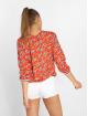 Charming Girl Blouse & Chemise Uni rouge 2