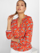 Charming Girl Blouse/Tunic Uni red 0