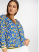 Charming Girl Bluse Uni blau 0