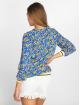 Charming Girl Bluse Uni blau 2