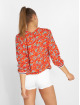 Charming Girl Bluse Uni rot 2