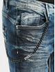 Cipo & Baxx dżinsy przylegające Ben niebieski