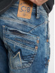 Cipo & Baxx Dżinsy straight fit Alpha niebieski