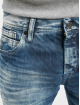 Cipo & Baxx Dżinsy straight fit Stone Washed niebieski