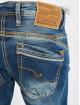 Cipo & Baxx Dżinsy straight fit Stone Washed niebieski