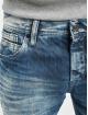 Cipo & Baxx Rovné Stone Washed modrá