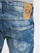 Cipo & Baxx Straight Fit farkut Stone Washed sininen
