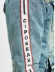 Cipo & Baxx Veste Jean Stripe bleu