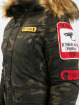 Cipo & Baxx Vinterjakke Fur khaki