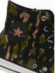 Converse Snejkry Chuck Taylor All Star Wordmark And Camo Print čern