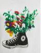 Converse T-Shirt Flowers Are Blooming blanc
