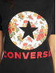 Converse T-Shirt In Bloom schwarz 3