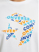 Converse Tričká Tri Fill biela