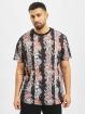Criminal Damage Camiseta Chalky Oversize negro