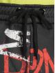 Criminal Damage Joggebukser Graffiti svart 3