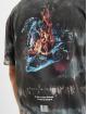 Criminal Damage T-Shirty Fire Ice Tie Dye niebieski