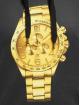 Dangerous DNGRS Hoodie Goldwatch svart