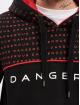 Dangerous DNGRS Hoody Wordpattern schwarz
