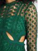 Danity Paris Robe Jolinde vert 1