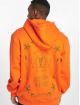 De Ferro Bluzy z kapturem Orange Fantasy pomaranczowy