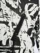De Ferro Lederjacke Classic X Graffiti schwarz