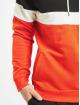 DEF Bluzy z kapturem Rye czerwony