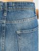 DEF High Waist Jeans Coral blau