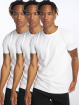 DEF T-Shirty Weary 3er Pack bialy