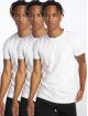 DEF Tričká Weary 3er Pack biela