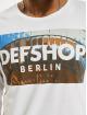 DefShop T-Shirt manches longues MERCH blanc