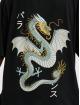 Denim Project Camiseta Dragon Washed Box Fit negro