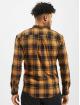 Denim Project Hemd Check orange