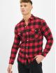 Denim Project Koszule Sami czerwony