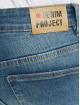 Denim Project Slim Fit Jeans Mr Red Light Destroy blau